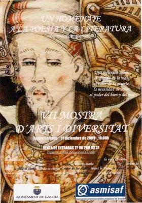 VII MOSTRA D'ARTS I DIVERSITAT, DESEMBRE 2009